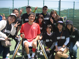 NEC Wheelchair tennis