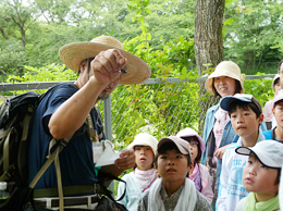 NEC Living Nature Observation Team in Abiko
