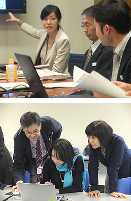 We started pro bono activities with the cooperation of the NPO Service Grant for the first time for a Japanese corporation.