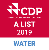CDP water A List stamp