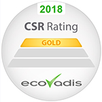 2017 CSR Rating GOLD ecoVadis