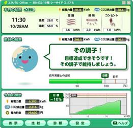 「エネパル(R)Office 画面イメージ」