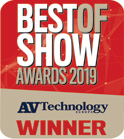 BEST OF SHOW AWARDS 2019 受賞ロゴ